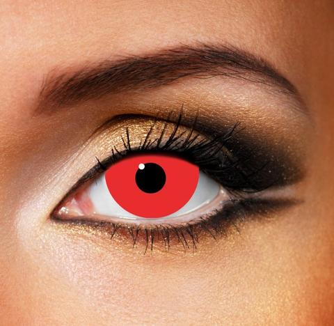 Buy Mini-Sclera-Red-Eye-Crazy-Daily-Lenses online in South Africa